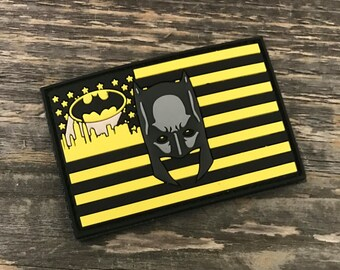 Batman Flag Series 3D PVC Morale Patch