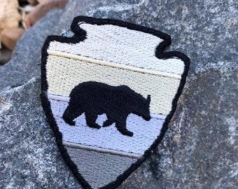 Arrowhead Bear Outdoor Adventure Patch