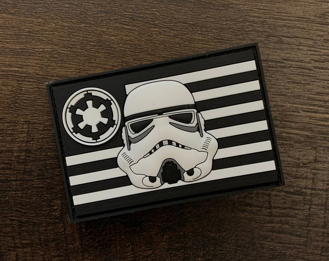 Stormtrooper Flag Series 3D PVC Morale Patch