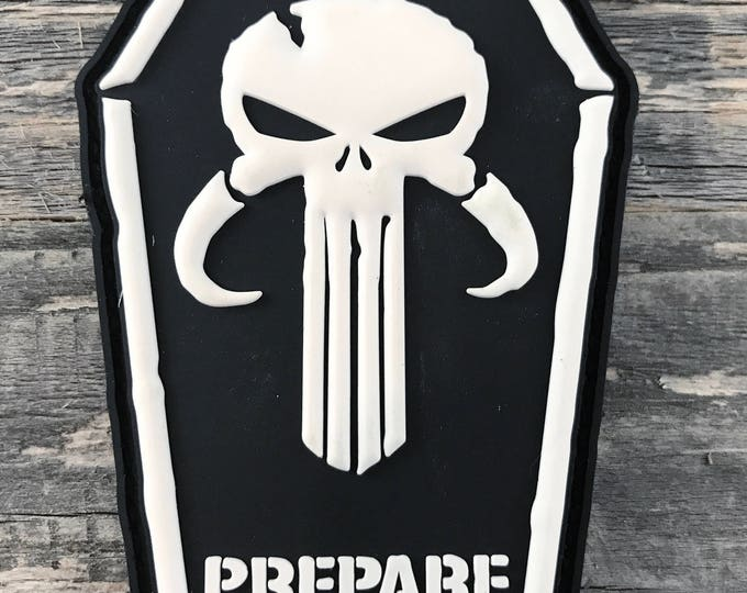 Mandalorian Punisher 3D PVC Morale Patch