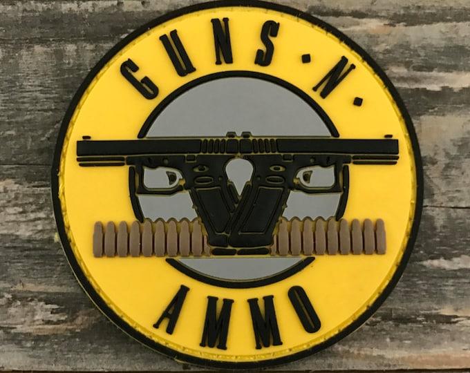 Guns N Ammo 3D PVC Morale Patch