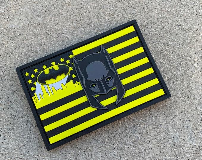 Batman Flag Series 3D PVC Morale Patch