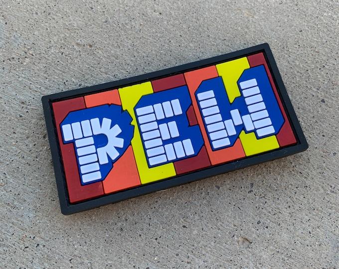 PEW Candy 3D PVC Morale Patch