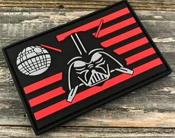 Darth Vader Flag Series 3D PVC Morale Patch