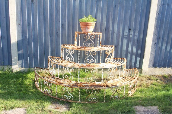 Beautiful Metal Plant Stand/Etagere