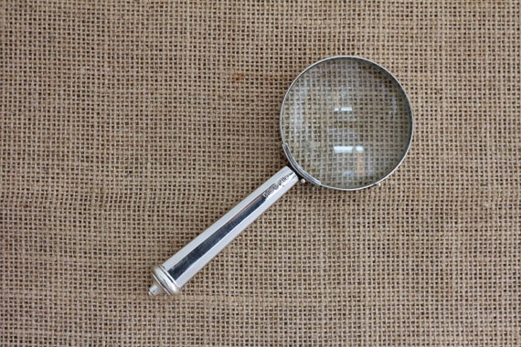 Magnifying Glass with Sterling Silver Handle