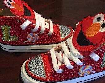 Custom Blinged Converse
