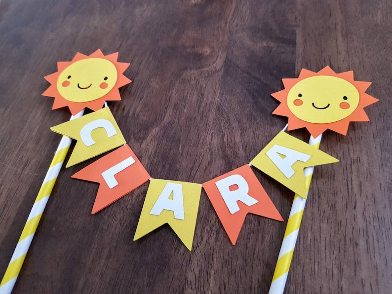 Sun cake topper You are my sunshine cake topper Sun Cake ...