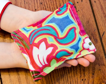 Cherry Pit Hand Warmers- Custom- You Choose Fabric- Ready Next Day!  (Free Shipping)