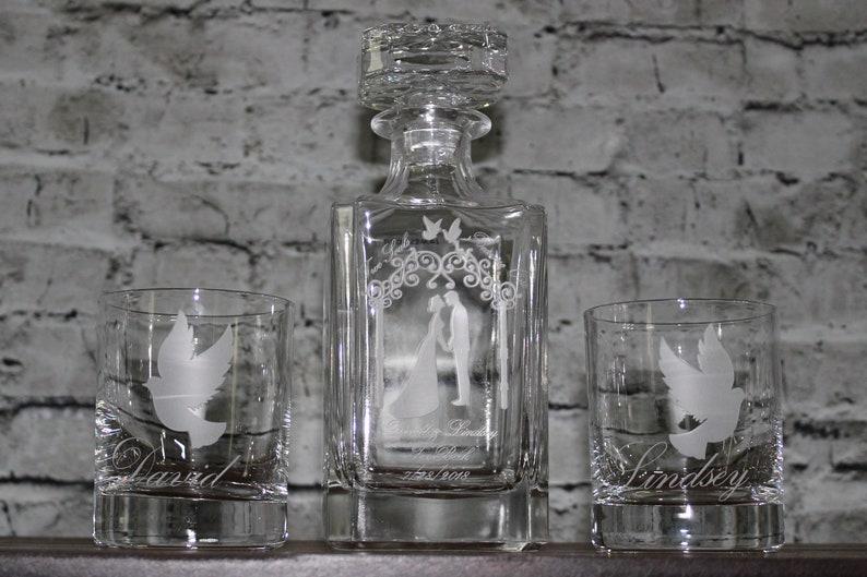 Crystal Glass Wedding Decanter Wedding Gifts Groomsmen Gift