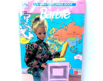 Barbie World Coloring Book