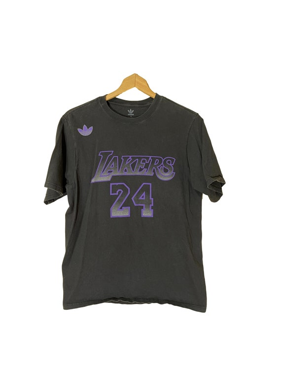 Kobe Bryant 24 Rare black and purple graphic tee |