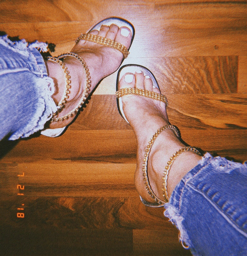 d182aff11 Madonna Rhinestone pumps Rhinestone heels gold shoes 80s