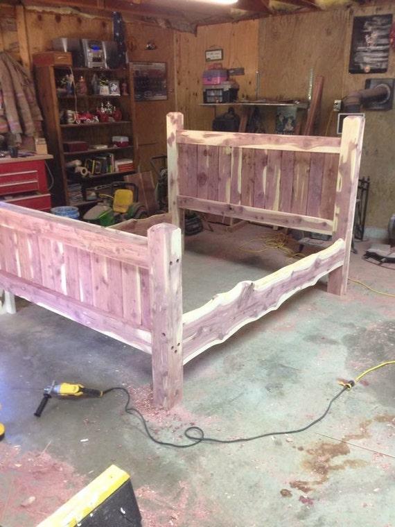 Bed Frame Cedar Post Custom Made