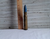 Vintage WW11 Trench Art Shell Casing Lighter. This Lighter is 5 1 4 quot Tall.
