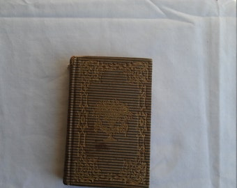 1846 Poetry of the Heart by William Bingham Tappan.  256 pages.  Printed in Troy, NY by W.H. Merriam. Gilt pages. 170 years old.