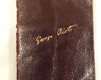 """George Eliot's """"The Mill On The Floss"""" Leather Bound edition"""