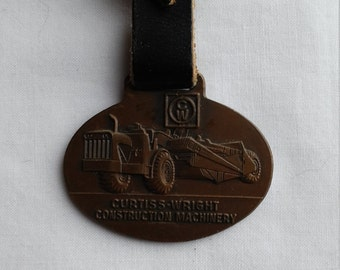 Vintage Curtiss-Wright Advertising Watch FOB