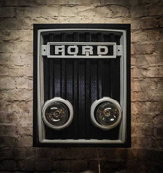 Ford Tractor Grill Wall Light