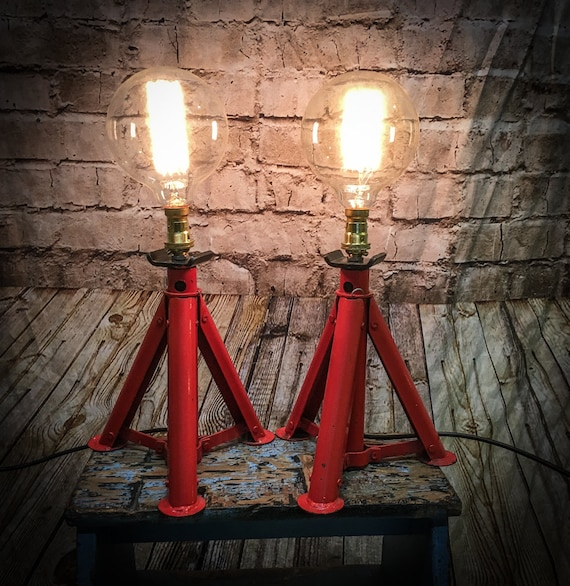 Industrial Axle stand lamp