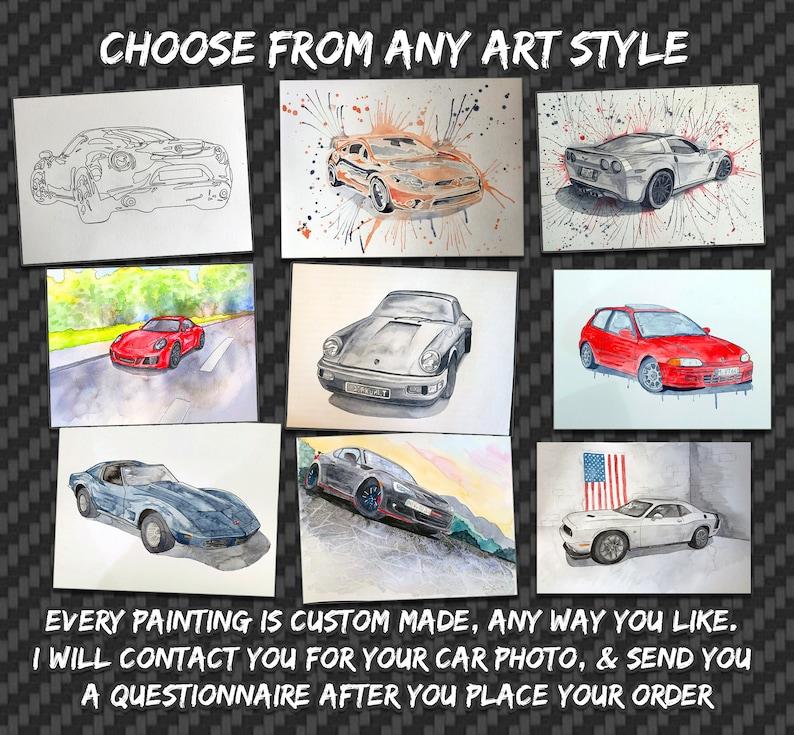 YOUR Car Into Art Custom Car Painting Custom Car Art