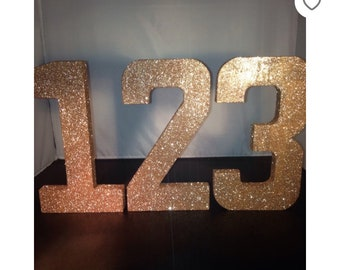 Customise listing for extra large letters