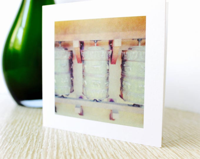 "Any Occasion Greeting Card: ""Prayer Wheels"""