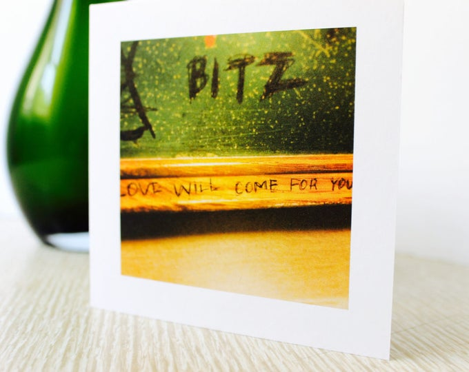 "Love/Any Occasion Greeting Card ""Love Will Come For You"""