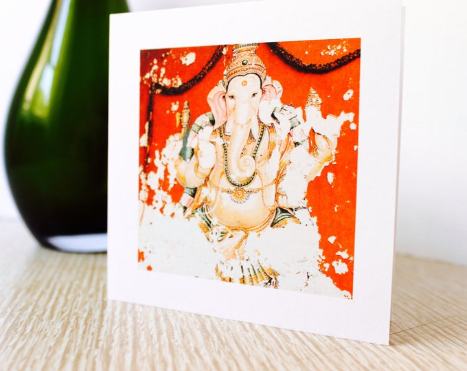 "Birthday/Any Occasion Greeting Card ""Ganesha"""