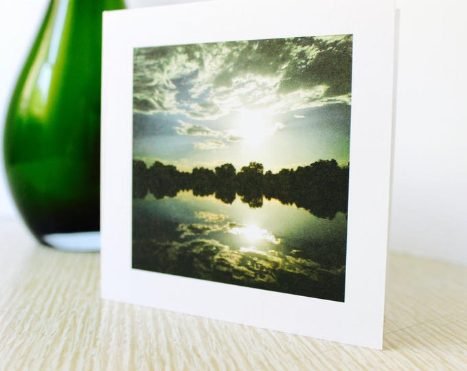"""Birthday/Any Occasion Greeting Card """"Summer Sunset"""""""