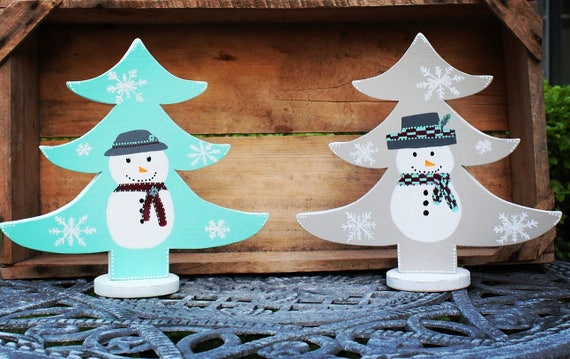 snowflake table decorations.htm christmas trees large trees snowman decor snowmen winter etsy  christmas trees large trees snowman