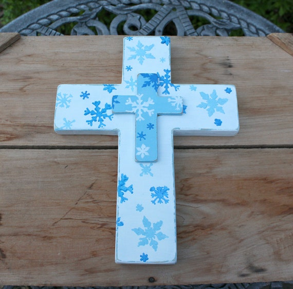 snowflake table decorations.htm white cross wooden cross snowflakes winter cross snowflake etsy  cross snowflakes winter cross snowflake