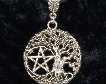 Tree of Life/Pentagram Necklace