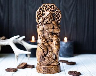 Odin, Wotan, Allfather, viking pagan asatru heathen god and goddess norse gods altar mythology