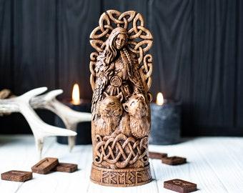 Freya, norse pantheon, viking pagan asatru heathen goddess and god scandinavian gods altar mythology