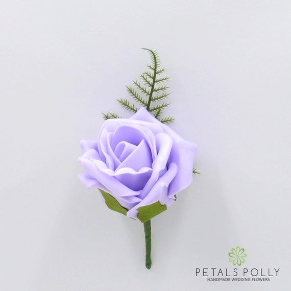 Rosas Decorativa Artesanía Adornos en Lila