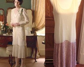 abb069fbc15 1920s Style Dress Downton Abbey Dress Vintage Berkertex Dress Flapper Dress  Gatsby Dress 1930 es Style Dress Drop Waist Dress 2 Piece