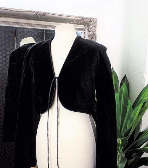 Velvet Jacket  Black Velvet Jacket  Silk Velvet Ja