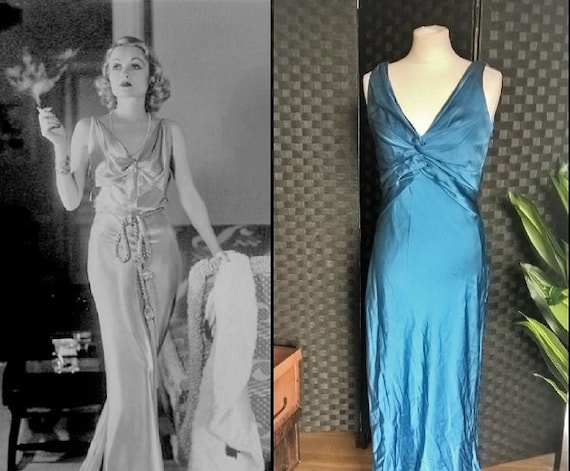Blue Dress  Satin Dress  Blue Satin Dress  Blue Ma