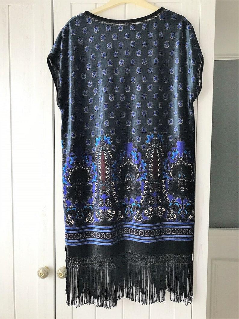 Flapper Dress  Velvet Dress  1920s Dress  1920s Style Dress  Fringed Dress  Tassled Dress  Downton Abbey Dress  Velvet Smock  Velvet Tunic