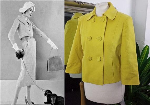 Yellow Jacket  Cotton Jacket  Cropped Jacket  Shor