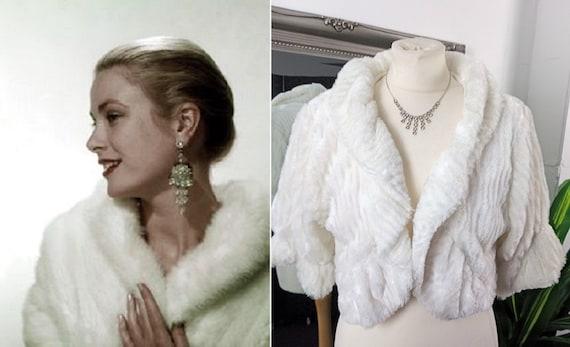 Fur Jacket  White Fur Jacket  Faux Fur Jacket  Ivo