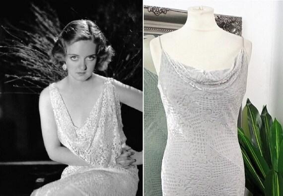 Velvet Dress  Bias Cut Dress  Cowl Neck Dress  Pro