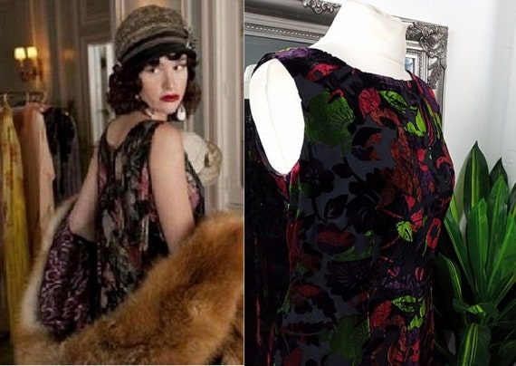 Velvet Dress  Silk Velvet Dress  Devore Velvet Dre