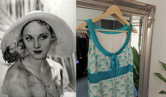 Linen Dress  Blue Dress  Embroidered Dress  Downto