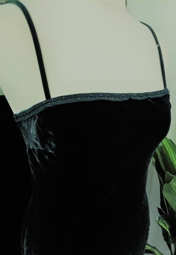 Green Dress  Velvet Dress  Green Velvet Dress  Be… - image 3