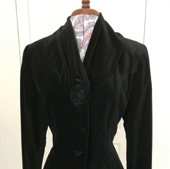 Velvet Jacket  Black Velvet Jacket  Velvet Blazer