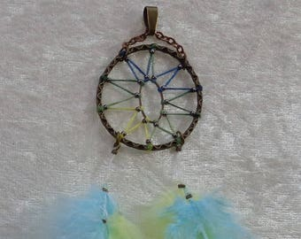 Pendant Bronze Collection - Dreamcatcher Œil cat