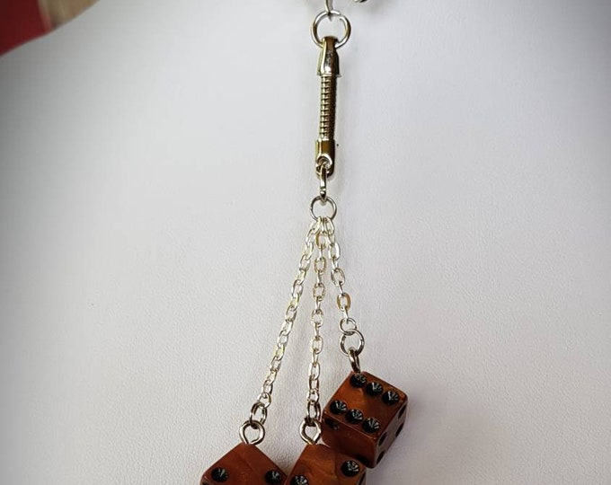 Featured listing image: Key ring 3 to 6 sided dice