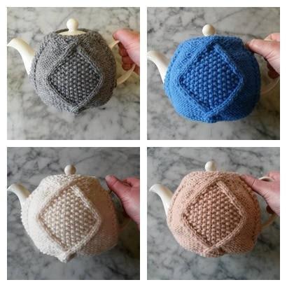 Knitting Pattern Aran Teacozy Instant Pdf Download Aran Teacosy